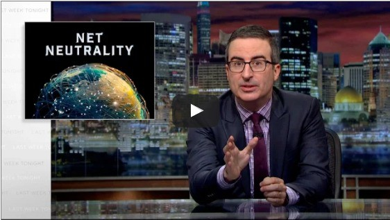Net Neutrality in a funny way featuring John Oliver
